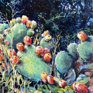 Painting about a Prickly Pear